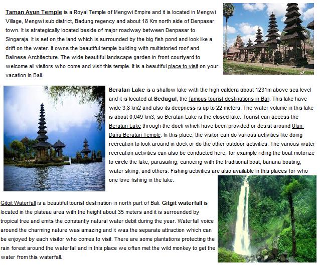 Trekking in Bali